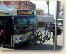 Hwy17 bus+ bike racks