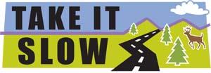 Safe on 17 logo - Take it slow