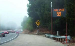 Dynamic Warning Sign