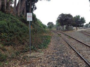 photo of railroad tracks