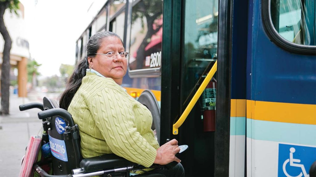 Disabled adult transportation system
