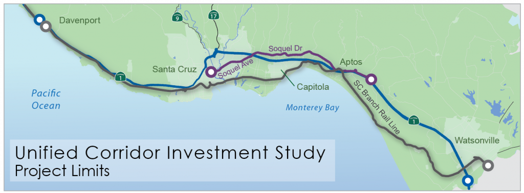 unified corridor investment study project limits